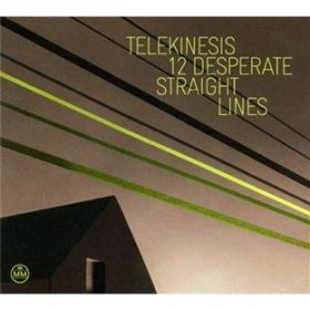 Telekinesis - 12 Desperate Straight Lines [CD]
