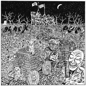 Black Pus / Oozing Wound - Split [Vinyl, LP]
