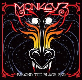 Monkey 3 - Beyond The Black Sky (Black/Red Splatter) [Vinyl, LP]