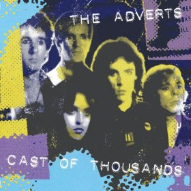 Adverts - Cast Of Thousands (White) [Vinyl, LP]