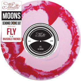"Moons - Fly (Pink/Red Marble) [Vinyl, 7""]"
