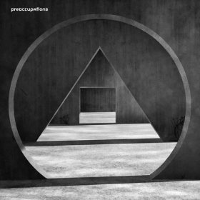 Preoccupations - New Material (Black / Grey) [Vinyl, LP]