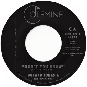 "Durand Jones & The Indications - Don't You Know [7""]"