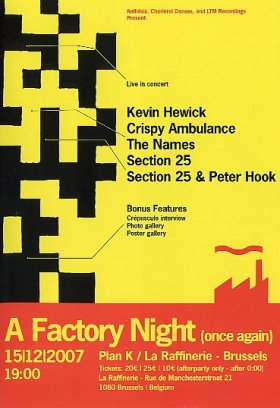 Various - A Factory Night (Once Again) [DVD]