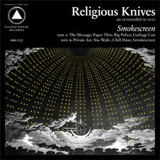 Religious Knives - Smokescreen [CD]