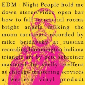 Edm - Night People [Vinyl, CD]