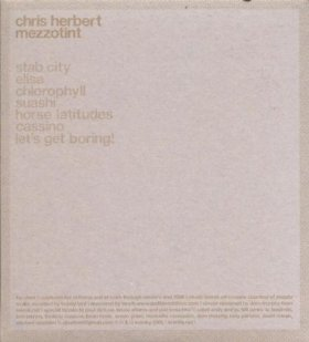 Chris Herbert - Mezzotint [CD]